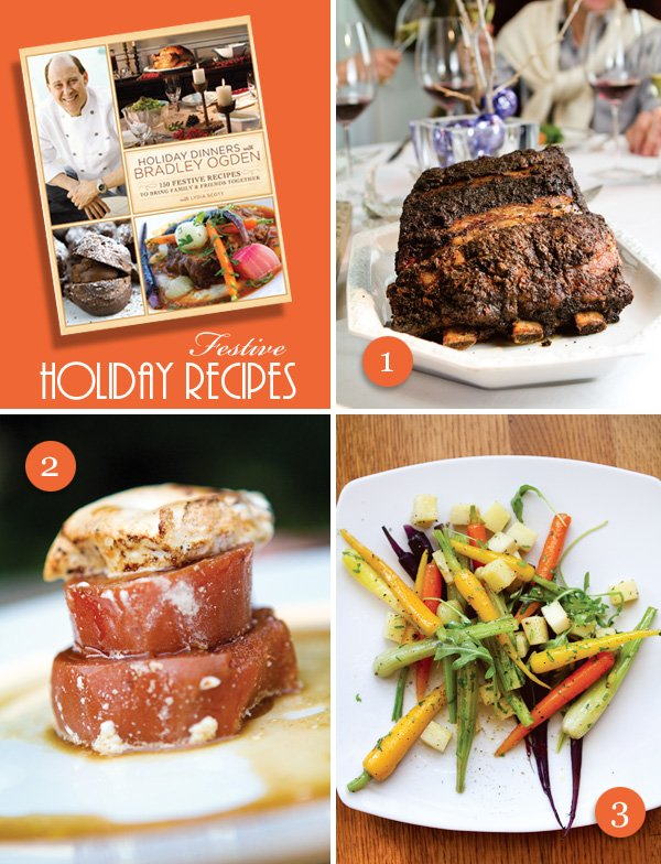 Holiday Dinners with Bradley Odgen book