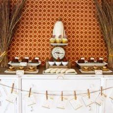 Fall Harvest Dessert Table