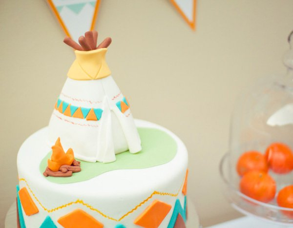 Little Indian Theme Birthday Party Ideas