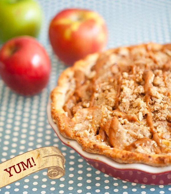 Cheddar Crusted Apple Pie Recipe