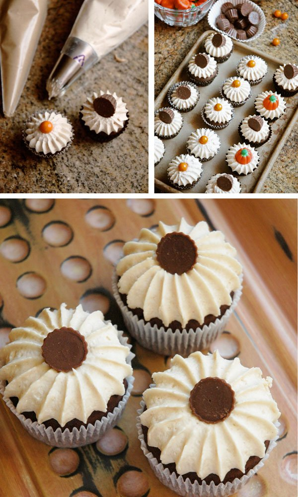 Regular and Mini Sized Cupcakes