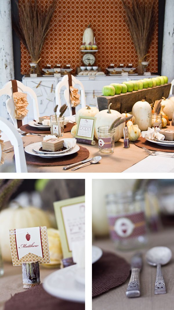 Thanksgiving Table Elements