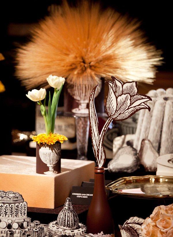 Creative Thanksgiving Table Centerpiece