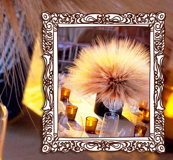 Creative Thanksgiving Table Centerpiece