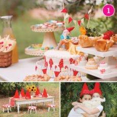 Gnome Birthday Party Theme Ideas