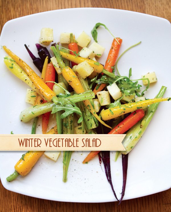 Winter Vegetable Salad Recipe