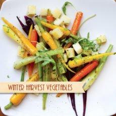 Winter Vegetable Salad Recipe
