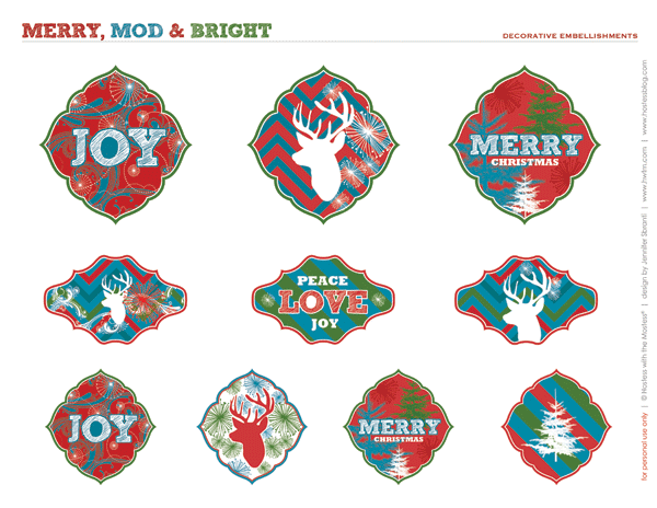 Free Holiday Party Printables - HWTM
