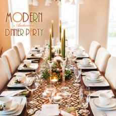 Modern Thanksgiving Table Ideas