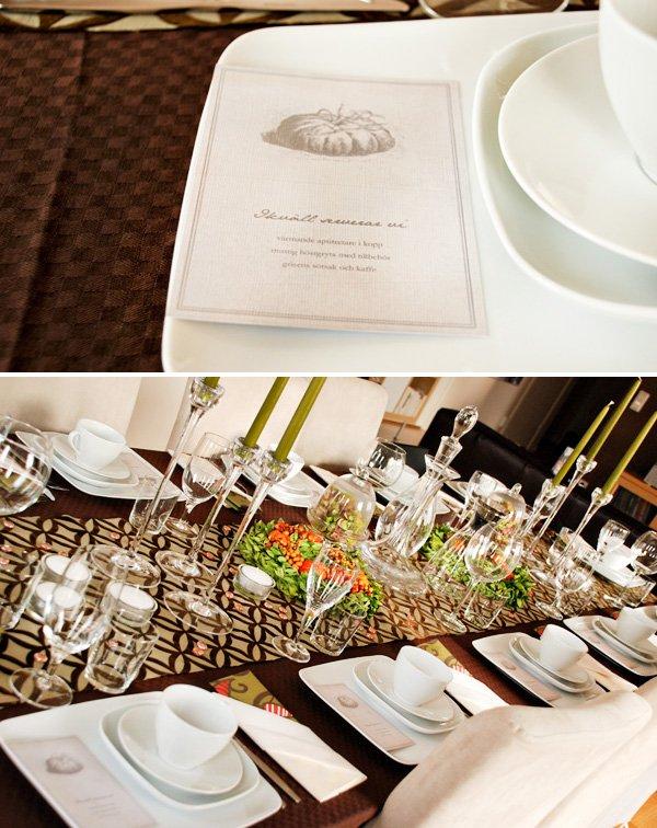 Modern Thanksgiving Table Ideas