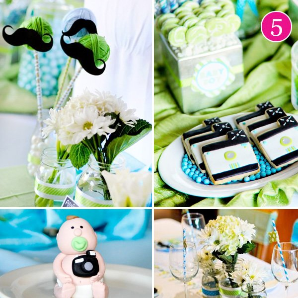Photo Inspired Baby Shower