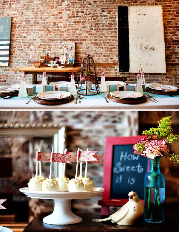 Rustic Modern Fall Bridal Shower