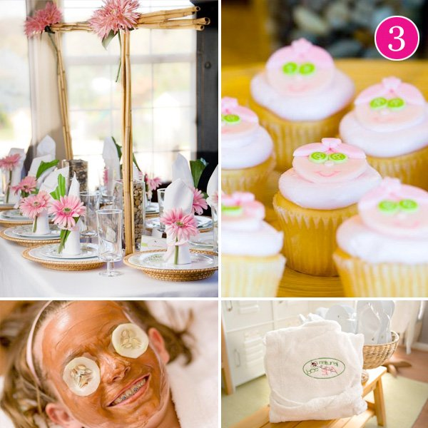 Girls Spa Themed Birthday Party