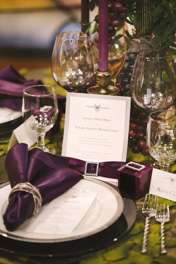 Twilight Inspired Wedding Tablescape Hostess With The Mostess