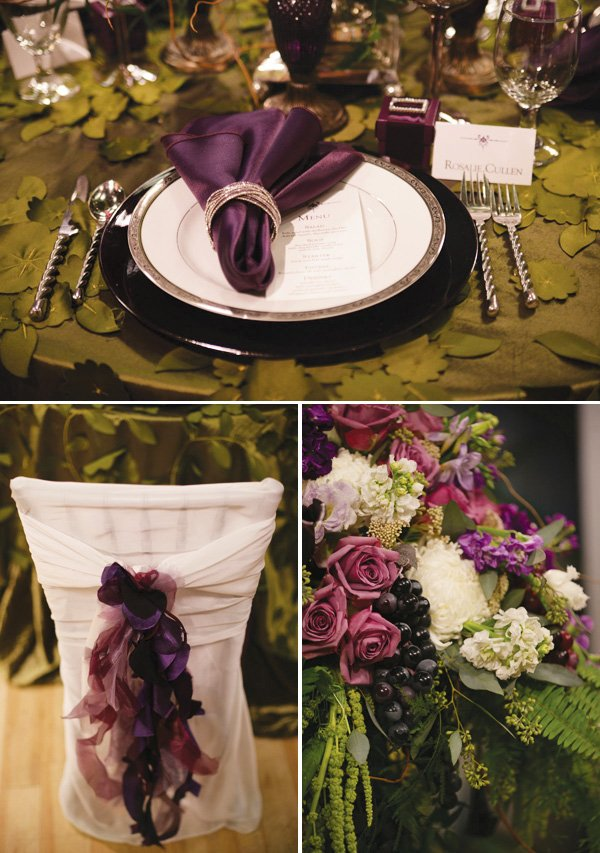 Twilight Inspired Wedding Tablescape Hostess With The