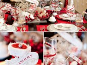 HWTM Vintage Holiday Glam Theme - Christmas Party Ideas