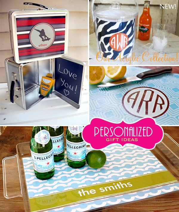 Whimsical Paper Personalized Gift Ideas