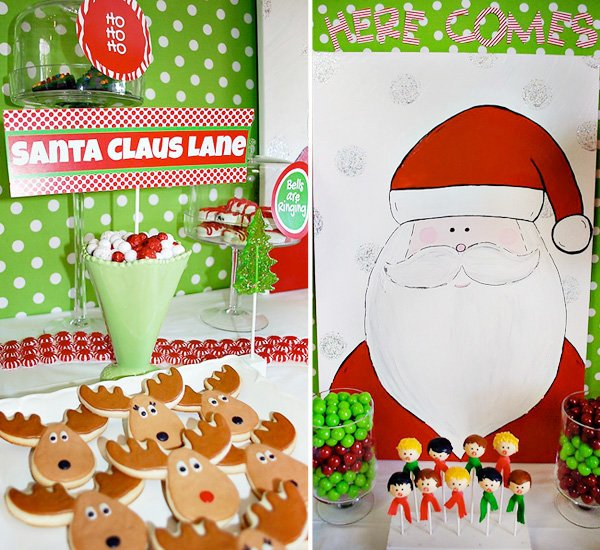 Here Comes Santa Claus Christmas Party