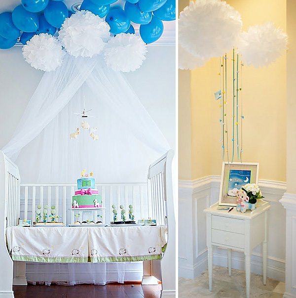 Lullaby Baby Shower Dessert Table
