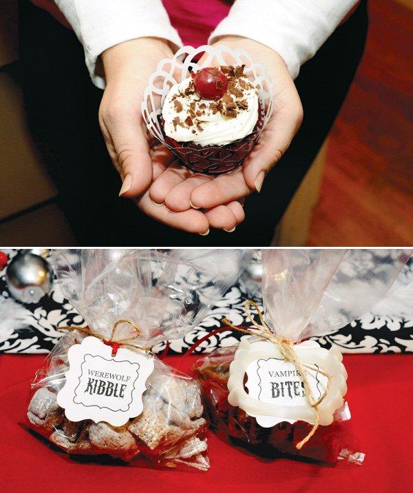 twilight party cupcake