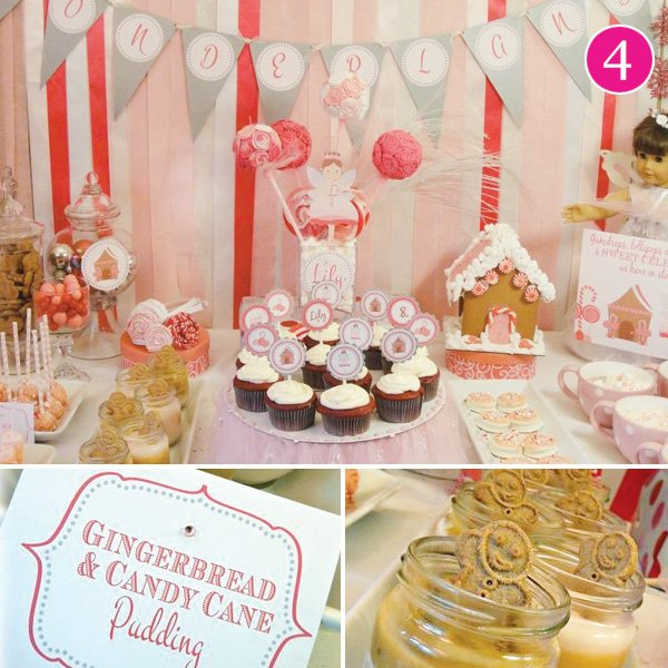 Candy Can Fairy Christmas Party for Kids
