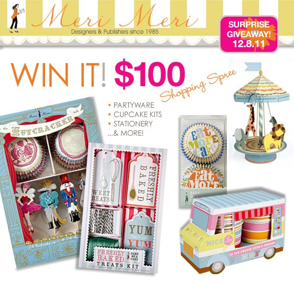 Partyware and Stationery by Meri Meri - Giveaway