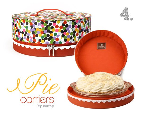 Pie Carriers by Vonny