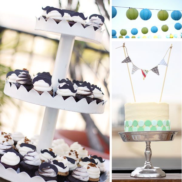 Cupcakes, Cake and Party Lanterns