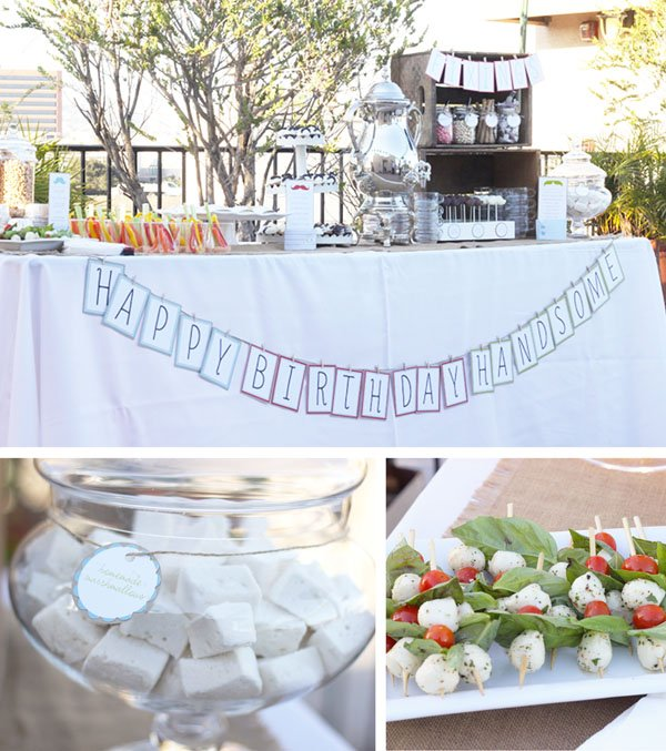 Party Table Details