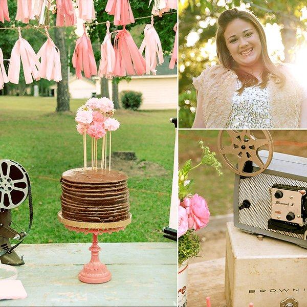 Movie Night Birthday Party - 13th Birthday & Sweet Sixteen