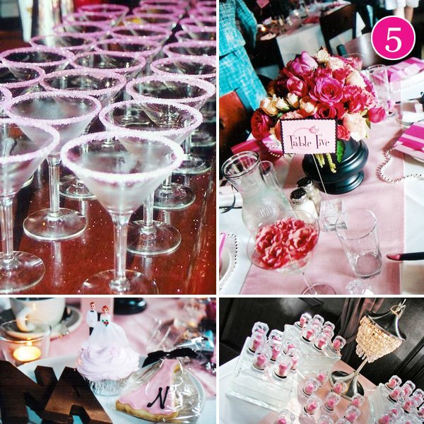 Pink Housewife Stepford Wife Retro Bridal Shower