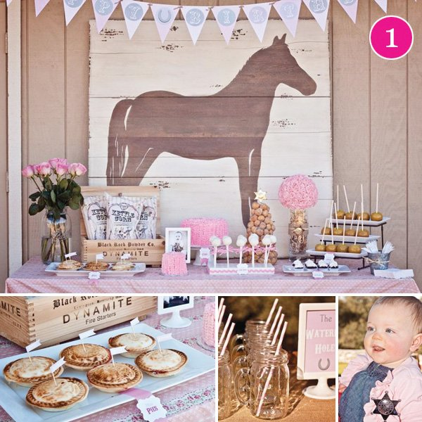 12 Cool Kentucky Derby Inspired Home Decor Ideas: {Party Of 5} Cowgirl Chic, Christening, L'Atelier, Holiday