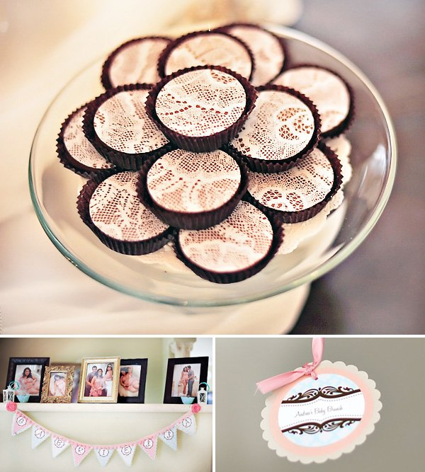 vintage lace chocolate oreos