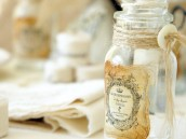 vintage rustic french bottles