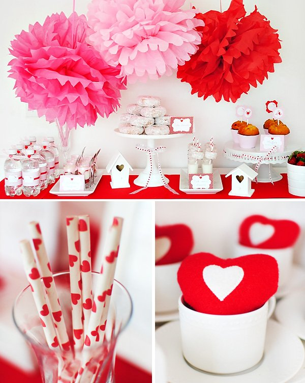 Love Birds Valentines Day Party Theme