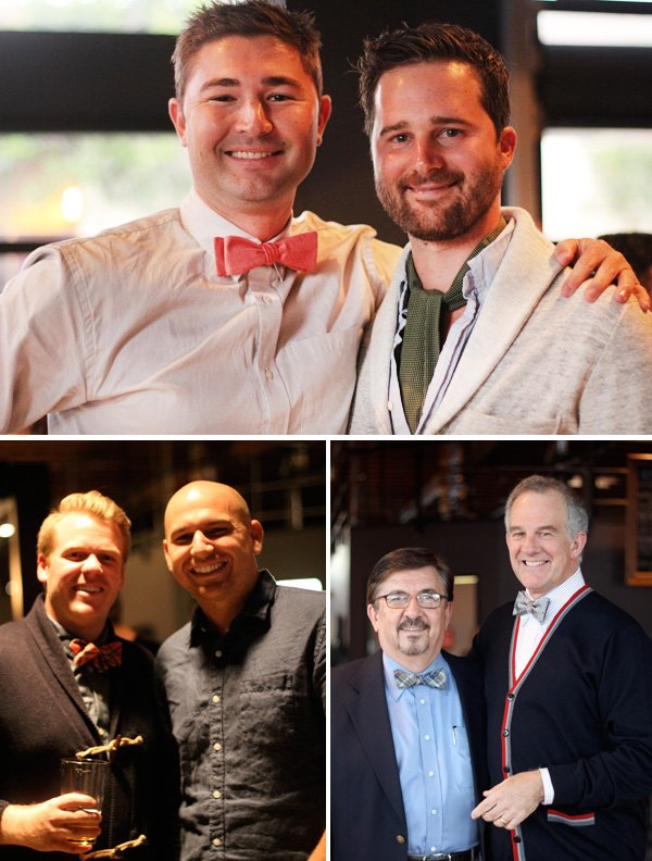 ascots, cardigans, & bow ties party
