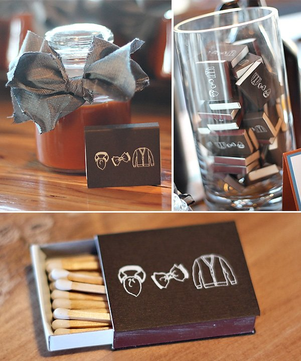 manly 30th birthday party custom matches