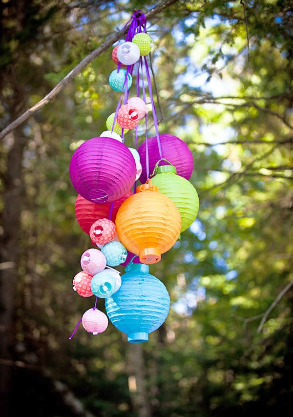 colorful Hanging party Lanterns