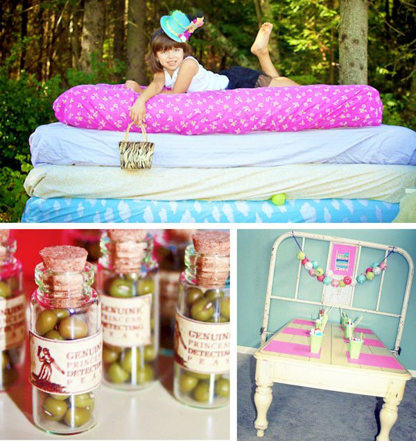 princess and the pea birthday party