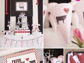 Valentine's Day Fondue Party Theme