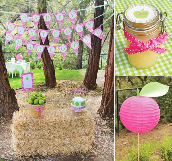 Apple of My Eye Party Decoration