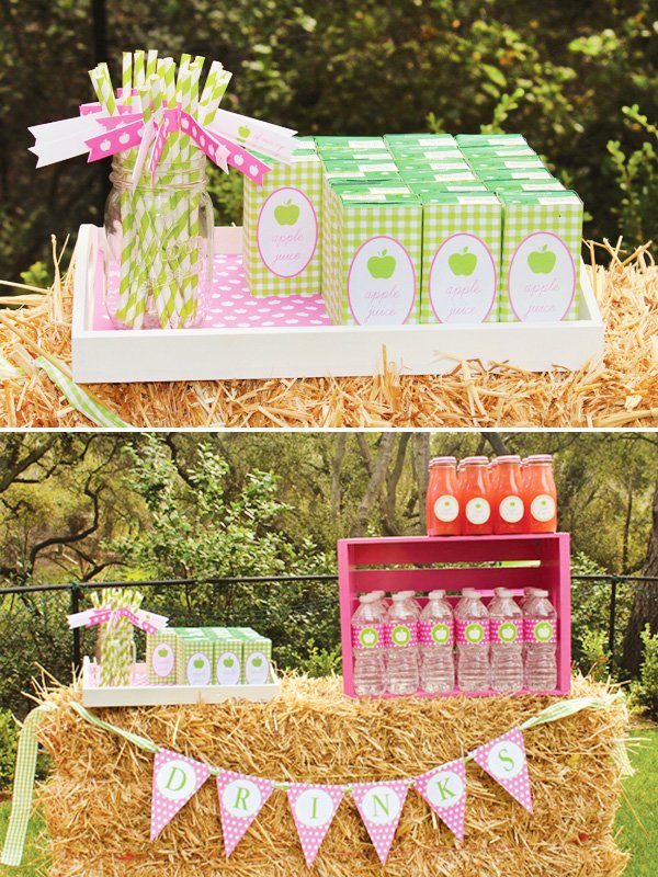 Charlottes Apple of My Eye Party Juices and Drinks