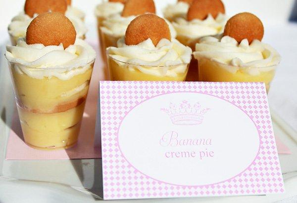 Individual Banana Cream Pie Desserts