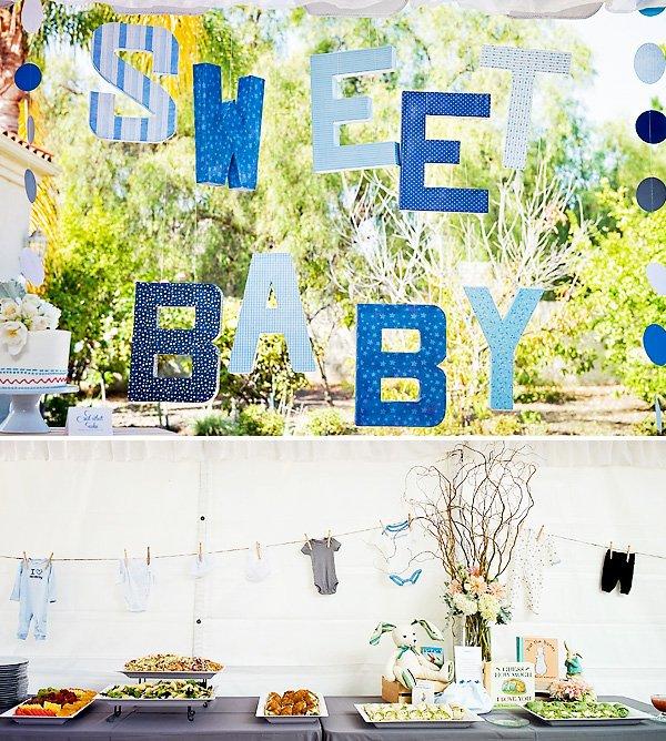 Peter Rabbit Baby Shower Decorations
