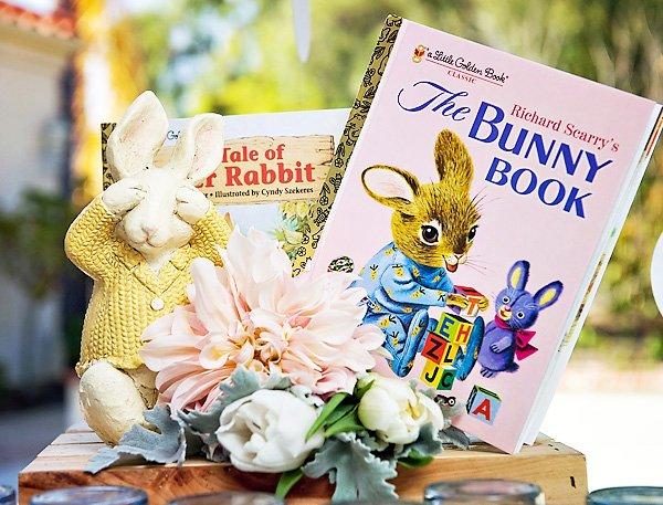 Peter Rabbit Baby Shower Books