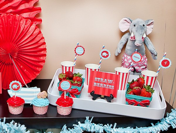 Vintage Carnival Kids Birthday Party
