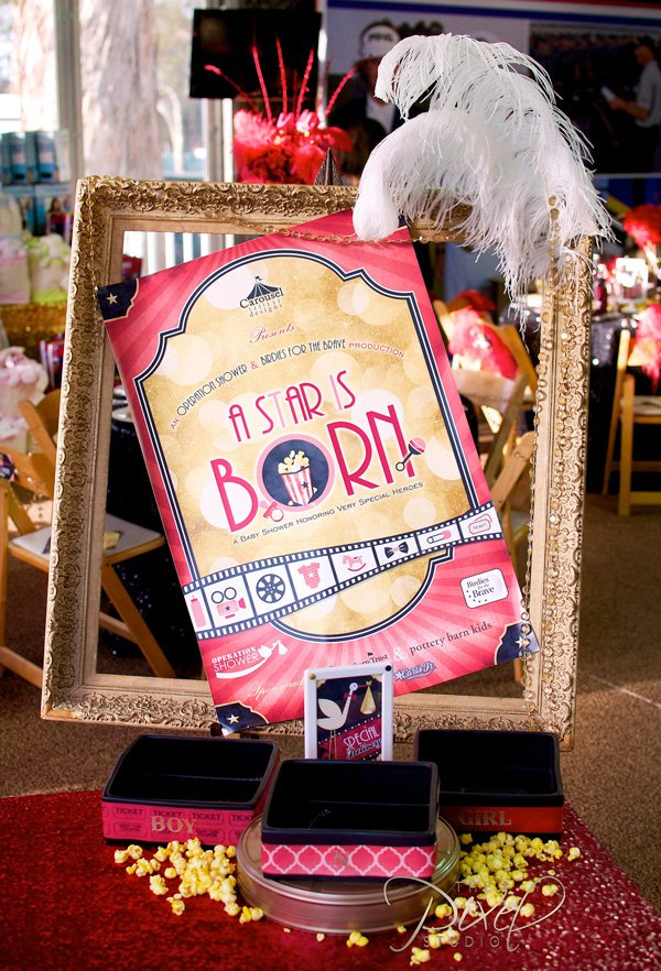A Star is Born - Vintage Hollywood Baby Shower