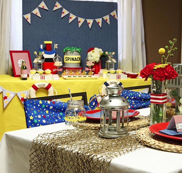 Little Sailorman Baby Shower or Birthday Party