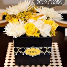 Oscars Party Centerpiece Idea - 2012