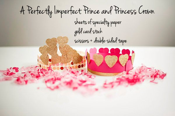 prince and princess diy crown